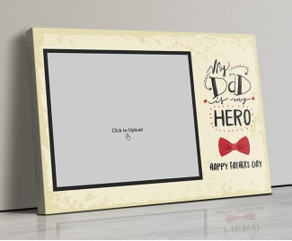 Photo Canvas Frames 20x14 - Father's Day Special Design