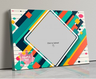 Photo Canvas Frames 20x14 - Graphic Abstract  Design