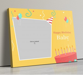 Photo Canvas Frames 20x17 - Birthday Blast Design