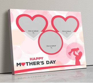 Photo Canvas Frames 20x17 - Mothers Day Special Design