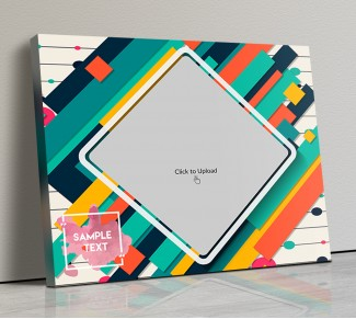 Photo Canvas Frames 20x17 - Graphic Abstract  Design