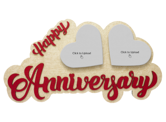Anniversary Photo Tile Large