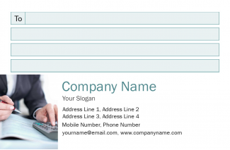 Accountant Address Labels Design