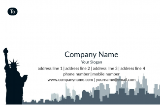 Consultancy  Address Labels Design
