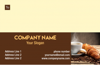 Bakery Address Labels Design