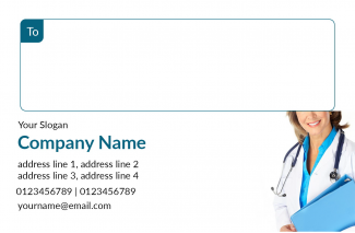Doctor's Address Labels Design