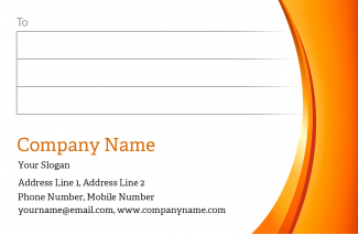 Premium Address Labels Design