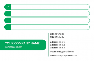 Management Address Labels Design