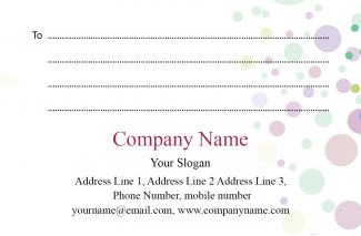 Classic  Address Labels Design