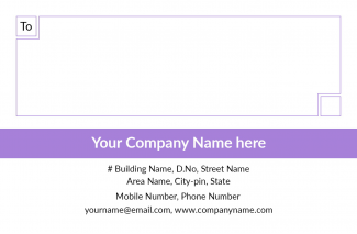 Professional Address Labels Design