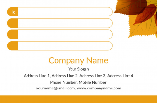 Interior Designer Address Label