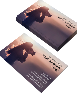 Photography Horizontal Business Card