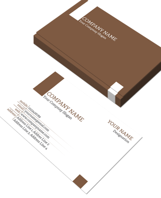 Advocate Horizontal Business Card