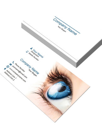 Eye Care Horizontal Business Card