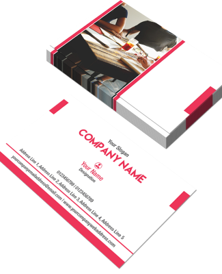 Consultancy  Horizontal Business Card