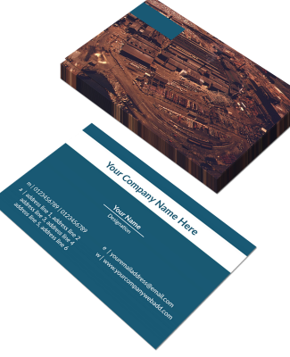 Industry Horizontal Business Card