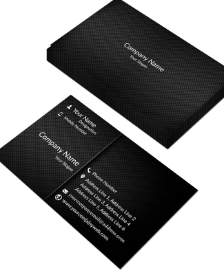 Premium  Horizontal Business Card