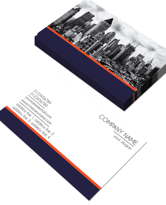 Normal Horizontal Double Side Business Card