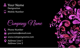 Designer  Horizontal Business Card