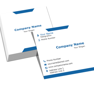 IT Company  Square Business Card