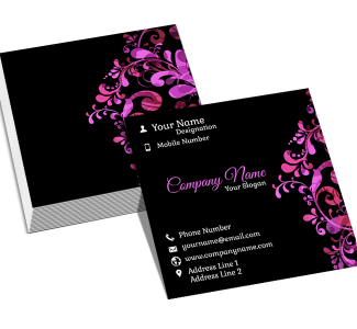 Designer  Square Business Card