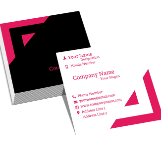Engineer Square Double Side Business Card