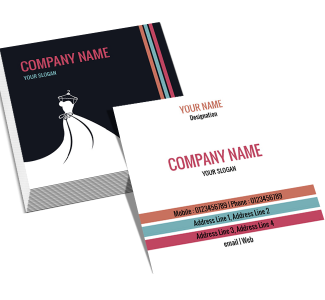 Premium Square Double Side Business Card