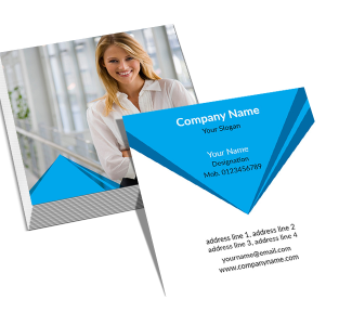 General Square Double Side Business Card