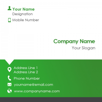 Management Square Business Card
