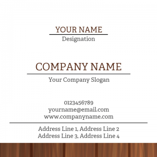 Carpenter Square Business Card