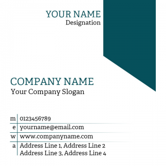 Office Square Business Card