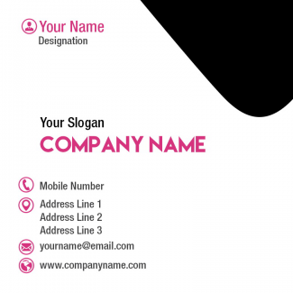 Employee Square Business Card