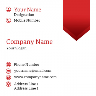 Tailor Square Business Card