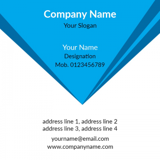 General Square Business Card