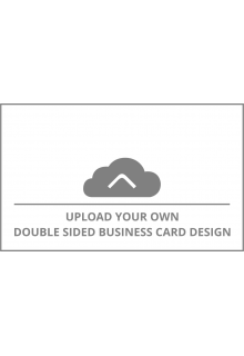 Horizontal Double Sided Business Card Upload