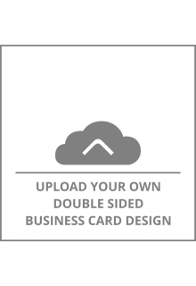 Square Double Sided Business Card Upload