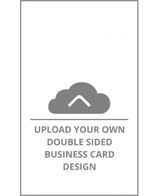 upload single sided business card upload