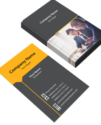 Consultancy  Vertical Business Card