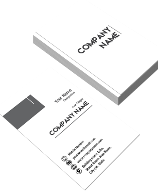 Two Sided Business Card Templates | Visiting Card Models