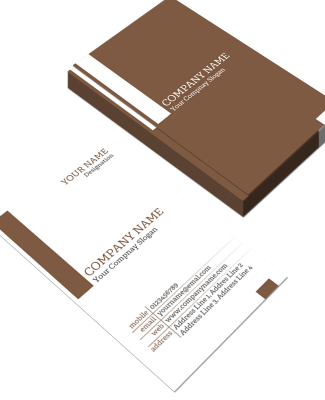 Advocate Vertical Business Card