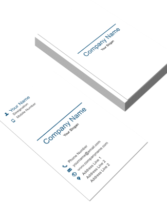 Eye Care Vertical Business Card