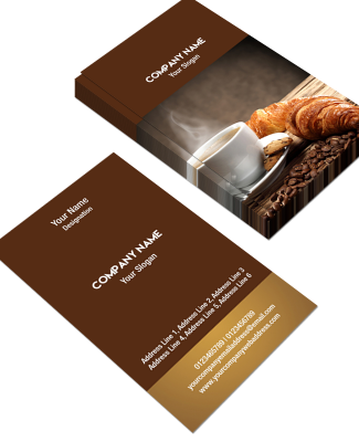Bakery Vertical Business Card