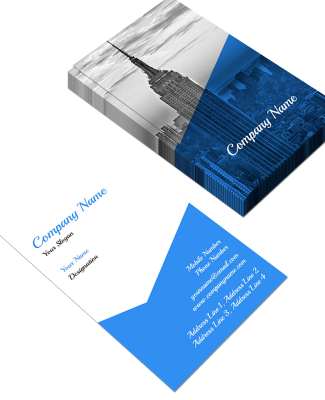 Proffessional Vertical Double Side Business Card