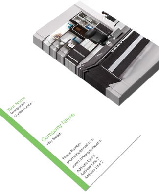 Corporate Vertical Double Side Business Card