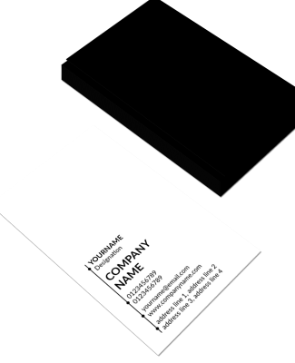 Premium Vertical Double Side Business Card