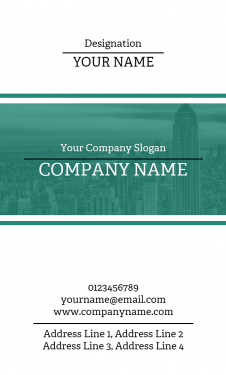 Architect Vertical Business Card