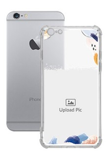 Water Colour Splash For iPhone 6 Plus Your Photo on Transparent Mobile Cases