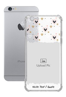 Love Theme For iPhone 6 Personalised Transparent Clear Phone Case