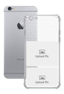 2 images For iPhone 6s Customized Transparent Mobile Cases