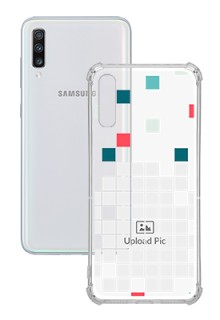 Mosaic Design For Galaxy A70 Customized Transparent Mobile Cases